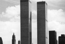 New York - Twin Towers / I remember watching them being built as a kid. There was something magical about seeing them standing majestically on the edge of the Hudson.