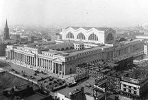 New York - Penn Station  / Temples when the rail-roads ruled!