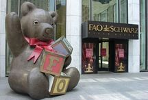 New York - FAO Schwarz Toy Store / One of the best loved toy stores in the world!