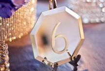 Weddings | Table Names & Numbers