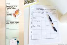 healthy eating & meal plans. / by Alba C