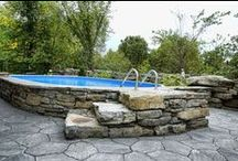 Above Ground Pools  / by Kimberly Gran
