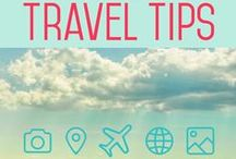 Travel Tips & Tricks / Simplify your plans with easy travel tips to help you save money and time. Plus, tips for traveling with kids. / by Stephanie Rector {Couponing 101}
