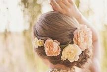 My Wedding: Hair & Makeup / Inspiration for my hair and makeup / by Katy Sewell