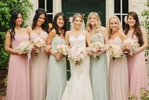 My Wedding: The Wedding Party / For the bridesmaids and groomsmen / by Katy Sewell