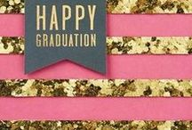 Graduation Inspiration / Everything you need to plan the party, from invitations to recipes and special DIY touches to make it unique. Plus inspiring quotes, cards and gifts to get the grad started on the right foot.