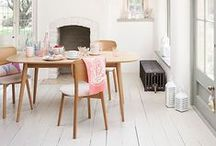 White Wooden Flooring We Love / We love white wooden flooring here at Flooring Xtra. White provides the perfect neutral canvas on which to express your personal style, increases space perception, and looks fresh and contemporary. We've put together a range of inspiration images from across the web, check them out below and be inspired to incorporate this modern trend into your own home...