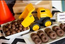 Construction Theme Party! / Party ideas for construction/building / by Kimberly Gran