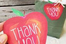 "Teacher Appreciation / Cute and creative ideas for saying ""Thank You"" to my toddlers' preschool teachers."