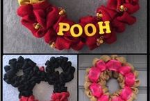Burlap Wreaths by Bek / Quality burlap Wreaths for your Home Decor. Make wonderful birthday or holiday and Christmas gifts. Sprayed with UV SunBlock to preserve color. Many styles available, including custom requests. Mickey Mouse, Winnie the Pooh, cancer awareness, Blackhawks, sports, seasons, holidays, and more!