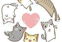 She likes her Cats / Soft kitty, warm kitty, little ball of fur. Happy kitty, sleepy kitty, purr, purr, purr.