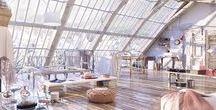 Interior Design / Design, but specifically indoors.