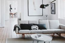Home decor / Minimalistic and Scandinavian style decor and design.