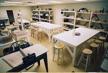 Pottery Studio / Ideas for the studio.