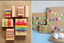 Gift Wrap Inspiration / Put down that pound shop paper and wrap a gift like a pro