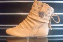 Ladies Flat Style Boots for every occasion ... / Ladies Designer Fashion Boots by Hoyvoy 2mm Flat Heel with Stud Design Top £55.00