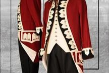 Period Uniforms for Military & Livery / Men's period style uniforms spanning over many centuries.   For more information on purchase or rentals go to www.tuxedowholesaler.com