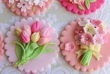 ♡Too pretty to eat♡ / Pretty cookies♡Cakes♡Desserts