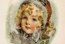 mery christmas / ilustracje