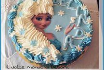 le mie torte in pasta di zucchero / cake designer
