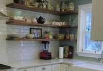 Kitchen Love / Beautiful kitchens just to dream about & I added my own kitchen renovation photos too!
