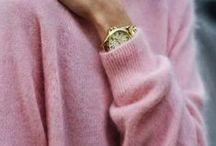 """PINK / """"I believe in PINK"""" -Audrey Hepburn"""