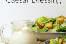 Recipes: Dressing/ Sauces / Here's where you'll find recipes for delicious dressing and sauces.