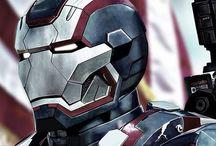War Machine / James Rhodes/ Iron Patriot