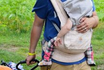 Babywearing / Babywearing is an important part of attachment parenting. Baby carriers like wraps, soft structured carriers (ssc), and meh dai (mei tai).
