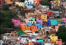 Colourful places