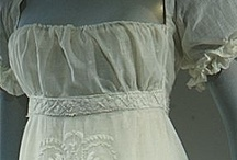 Ethereal Regency dresses / Beautiful and delicate gowns from the Regency period