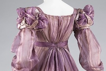 Real garments from the early 19th century / Real garments that have been preserved and restored. Most are museum exhibits.