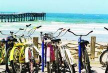 Biking around Miami