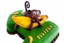 Torty urodzinowe dla dzieci / Sugarcrafting czyli zdobienie ciast i tortów w stylu angielskim. Torty urodzinowe i na każdą inna okazję.