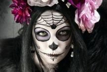 Calavera ~ Sugar Skull Make-Up