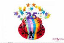 Torty urodzinowe dla dorosłych / Sugarcrafting czyli zdobienie ciast i tortów w stylu angielskim. Torty urodzinowe i na każdą inną okazję.