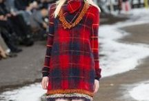 Plaid Fashion Trend / Tartan & Plaid: the cool new ways to wear it. New bright and colourful interpretations, and options from classic to grunge.