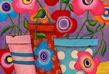 Λουλούδια...και ζωγραφική