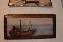 Κατασκευές με  ξύλα και θαλασσόξυλα