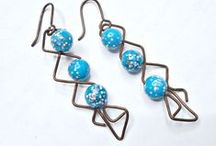 Wire Work At Its Best / The humble copper wire is the soul of my earrings. Sometimes, it likes to work its magic with quirky twists and designs. Check out this board for various creations that give WIRE its due!