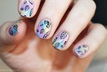 Sheer Tints Nail art inspirations / #nailart #rainbow #opi #sheer #tints
