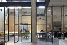 Serramenti / Serramenti in ferro e in vetro. Elementi decorativi eleganti e funzionali. Ispirazioni e idee.