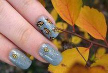 Autumn nails / Nailart