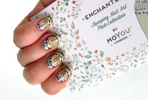 "Enchanted MoYou London <3 <3 <3 / Moyou London ""Enchanted"" stamping plate collection and inspiring nail art and nail designs"