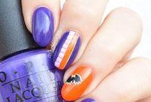 Halloween nail art inspirations / #nails #nailart #halloween