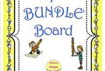 TpT BUNDLE Board / Look here for TeachersPayTeachers BUNDLE resources!
