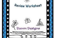 TPT Store - Review Resources / TpT Resources for Review!