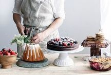 Sweet Food Styling / I am inspired by amazing styling, here is my favourite sweet styles.