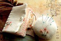 Pincushions, Pinkeeps and Needlebooks / by Martha Duffy