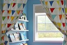 book nooks// / Cute and cuddly spaces to encourage more reading time, with the kids and on your own
